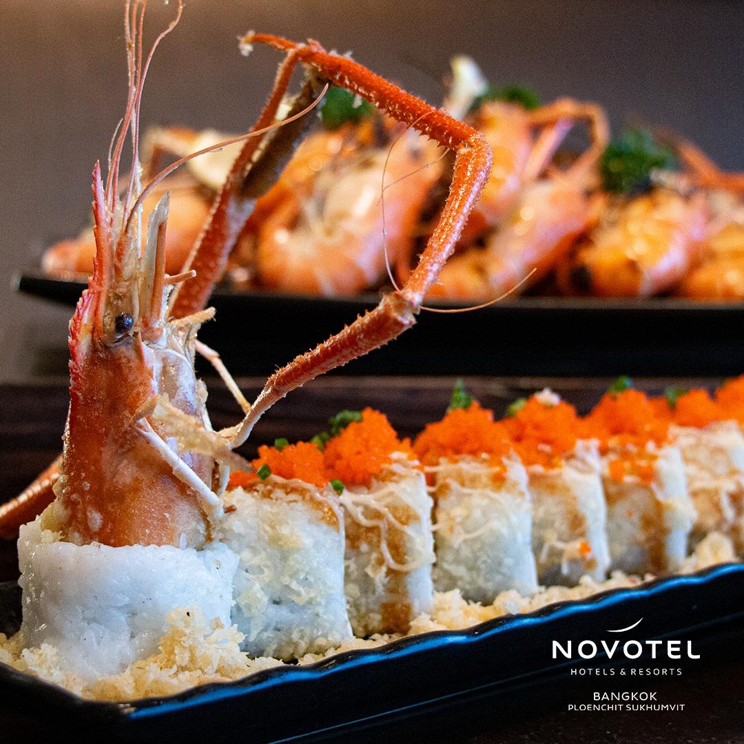 Novotel บุฟเฟต์